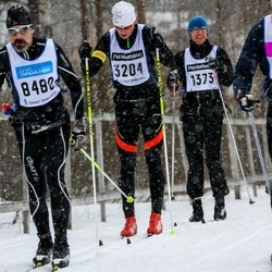 Skiing 90 km - Mats Andreasson (3204), Dennis Eriksson (8480)