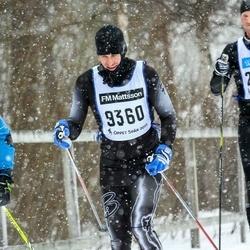 Skiing 90 km - Björn Sjöberg (9360)
