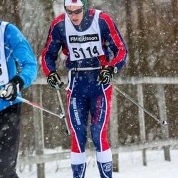 Skiing 90 km - Alexander Bilock (5114)