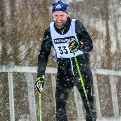 Skiing 90 km - Henrik Adamsson (3320)