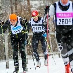 Skiing 90 km - Lasse Skudal (2604), Henrik Wallin (7447)
