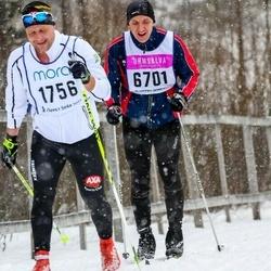 Skiing 90 km - Magnus Lyckman (1756), Henrik Sjövall (6701)