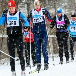 Skiing 90 km - Dennis Skog (388), Jakob Attås (4201)