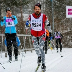Skiing 90 km - Christofer Johansson (695), Adam Karlsson (9964)