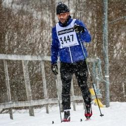 Skiing 90 km - Daniel Severin (3447)