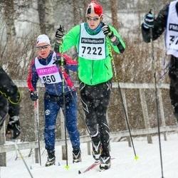 Skiing 90 km - Alexander Jansson (7222)