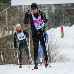Skiing 90 km - Henrik Richter (2787)