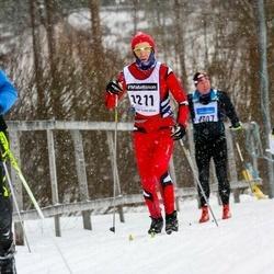 Skiing 90 km - Andre Lagrange (1211)