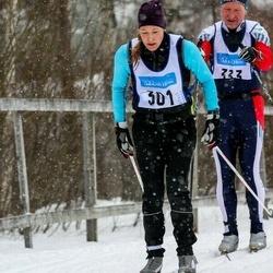 Skiing 90 km - Christine Pettersson (301)
