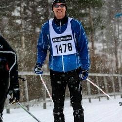Skiing 90 km - Adam Dahl (1478)