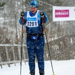 Skiing 90 km - Daniel Kågemalm (2201)