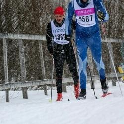 Skiing 90 km - Jarek Figas (3962)