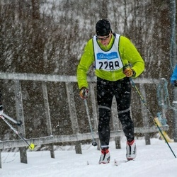 Skiing 90 km - Andreas Andersson (2288)