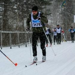 Skiing 90 km - Björn Hulthén (2478)