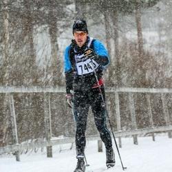 Skiing 90 km - David Göransson (7443)