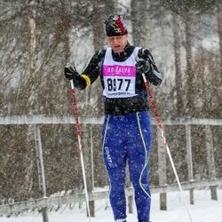 Skiing 90 km - Henrik Wettergren (8977)