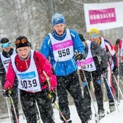 Skiing 90 km - Anders Lundqvist (950), Jill Oscarsson (4039)