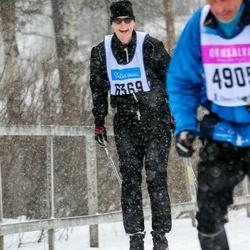 Skiing 90 km - Fredrik Molldén (6369)