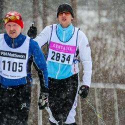 Skiing 90 km - Christian Bylock (2834)
