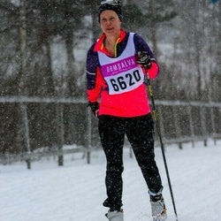 Skiing 90 km - Elenor Vincent (6620)