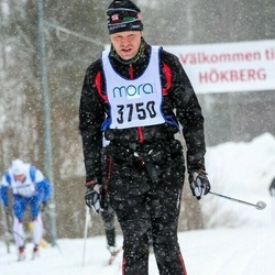 Skiing 90 km - Anders Larsson (3750)