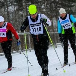 Skiing 90 km - Andreas Bjärkmar (1118)