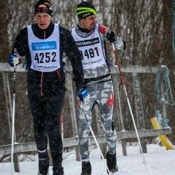 Skiing 90 km - Per Wanhainen (4252), Adrian Lundqvist (9481)