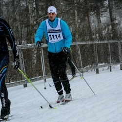 Skiing 90 km - Daniel Leffler (3114)