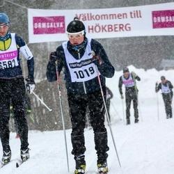 Skiing 90 km - Patrik Persson (1019)