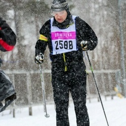 Skiing 90 km - Fabian Hästbacka (2588)