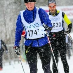 Skiing 90 km - Kristina Tulldahl (1747)