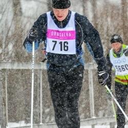 Skiing 90 km - Joakim Anner (716)