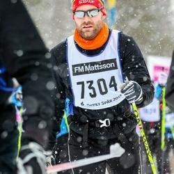 Skiing 90 km - Fredrik Lönnberg (7304)
