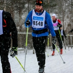Skiing 90 km - Fredrik Niklasson (8348)