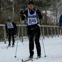 Skiing 90 km - Jeannie Karlsson (3346)