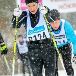 Skiing 90 km - Jenny Björklund (6124)
