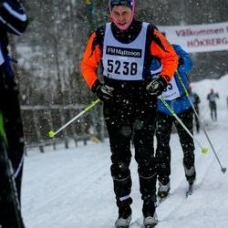 Skiing 90 km - August Eriksson (5238)