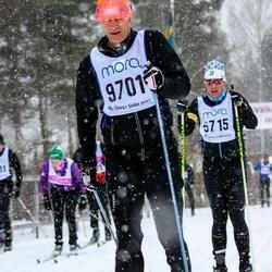 Skiing 90 km - Carsten Browall (9701)