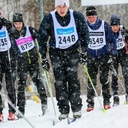 Skiing 90 km - Björn Fredriksson (2448)