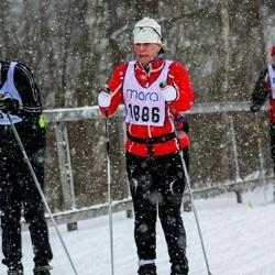 Skiing 90 km - Cecilia Bergensjö (1886)