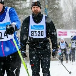 Skiing 90 km - Erik Mossfeldt (8320)