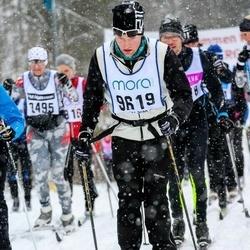Skiing 90 km - Adam Björkegren (9619)