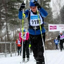 Skiing 90 km - Henrik Jardle (2182)