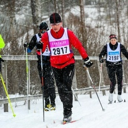 Skiing 90 km - Björn Forsberg (2917)