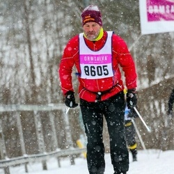 Skiing 90 km - Christer Steen (8605)