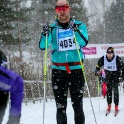 Skiing 90 km - Christofer Ulfgren (4034)