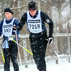 Skiing 90 km - Daniel Wahlqvist (7259)