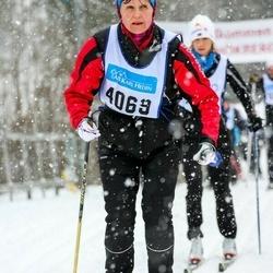 Skiing 90 km - Carin Eriksson (4069)