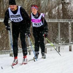 Skiing 90 km - Bengt Wallin (1192), Henrik Hörstadius (4821)