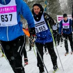 Skiing 90 km - Henrik Rosenberg (5463)